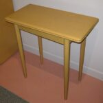 3389 Console table redone Wheat