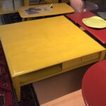 Large cocktail table redone Wheat 1155