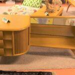 Kohinoor 148 nightstand redone Wheat