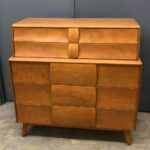 M149/141 Original Champagne  (older color) Very good/excellent condition. $1350   SOLD Kohinoor Deck top on Dresser