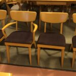 refinished in Wheat.  $1200 set of M1551 chairs