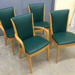 set of 2 + 2 M157 chairs completely redone 157s