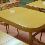 169 Jr dining table redone Wheat
