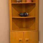 in its' new home 176 Corner Cabinet