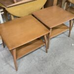 pair of M1503 end tables