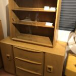 original excellent Wheat 375 china top on 592 buffet
