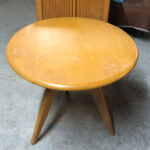 Center table original Champagne finish is terrible. $250 as is. 393
