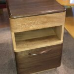 made with Walnut and Sycamore  $950  sold Custom nightstand