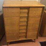 Previously refinished in a  Wheat  sold Trophy chest