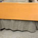 Head board only. Finished in Champagne  $650  sold Custom Encore Queen