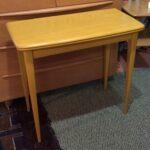 313pivot top console table redone Wheat