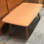 M319 Cocktail table in good/very good Champagne $250 as is