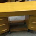 M320 desk redone Wheat used in excellent condition