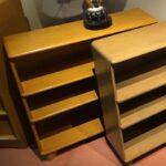 Straight bookcase redone Wheat