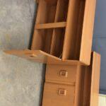 redone Champagne 326 Cabinet Bookcase