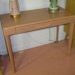 $1000 redone Champagne 327 Table desk redone Champagne