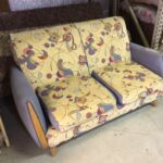 """M331. Should be totally redone. 56"""" wide love seat"""
