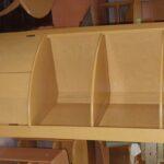 3348 Corner cabinet redone Wheat