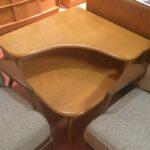 338 Corner table redone Red Wheat