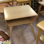 $475 Custom reproduction by Strictly hey wake M364 lamp table finished Natural