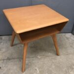 Lamp table in very good/excellent original Champagne - $375  sold M364