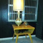 tv-vcr table redone Wheat M364  Lamp table