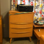 $1600 redone. $850 as is 389 desk chest