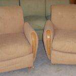 Pair of C3985 armchairs