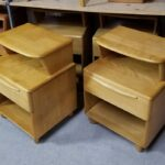 Encore 538 nightstand previously redone Natural. Used but excellent. Pair for $950 hold