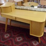 Vanity desk redone Wheat