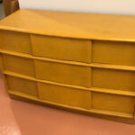 Single dresser.  Refinished Wheat $1000 Sculptura 771