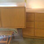 Sculptura Deck top and Dresser redone Champagne. 781771