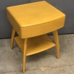 refinished Wheat  $725   20 x 18 x 25 high sold M793 Lamp table