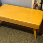 M905 Cocktail table with drawer redone Wheat. Sold