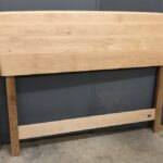 finished Natural Custom Queen headboard