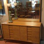 Trophy double dresser in very good original Wheat $850 Trophy