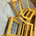 Aristocraft M927 chairs  redone Wheat