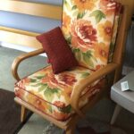 Original Wheat finish in good condition. Brand new cushions and upholstery. $1400