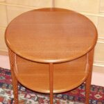 Copy of Wakefield's C3549 lamp table: Leopardwood