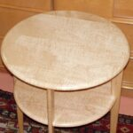 Copy of Wakefield's C3549 lamp table: Curly Maple