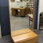 blanket chest with mirror