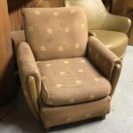 C3541 upholstered arm chair