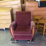 sold chair in original mohair but needs to be completely redone