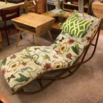 fabric shows some use HW Rattan chaise  $650