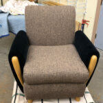 completely redone sold club-chair