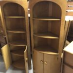 in Wheat pair of 3348x corner cabinets
