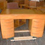 older kneehole desk