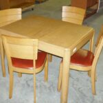 older table and chairs
