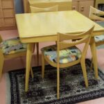 custom made bridge table with cat eyes in Wheat