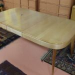 M169 Jr dining table redone Natural